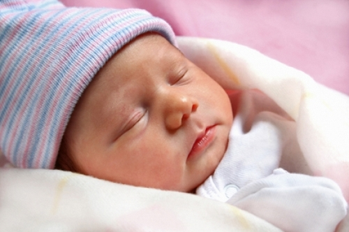Сосудистые пятна у новорожденных