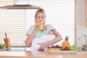 Какие соки можно пить кормящей маме
